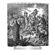 Battle Of The Camel, 656 Shower Curtain