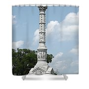 Battle Of Yorktown Monument Shower Curtain