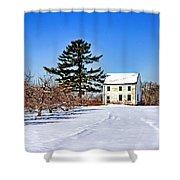 Battlefield Farm House Shower Curtain