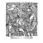Battlefield Surgeon, 1540 Shower Curtain