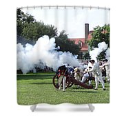 Battlelines Drawn Shower Curtain