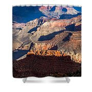 Battleship Rock At The Grand Canyon Shower Curtain
