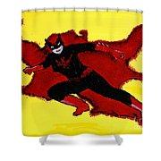 Batwoman Shower Curtain