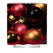 Bauble Abstract Shower Curtain