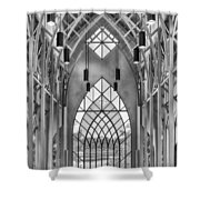 Baughman Meditation Center Shower Curtain