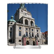 Bavarian National Museum Shower Curtain