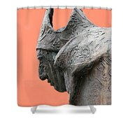 Bavarian Statue Shower Curtain