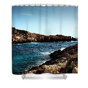 Bay And Sea Shower Curtain