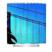 Bay Bridge 19702 Shower Curtain