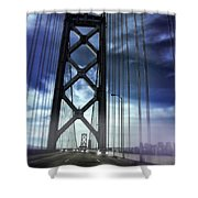 Bay Bridge Shower Curtain