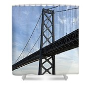 Bay Bridge San Francisco Shower Curtain