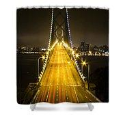 Bay Bridge Traffic Acrylic Print