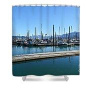 Bay In Seward Alaska Shower Curtain