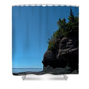 Bay Of Fundy Landmark Shower Curtain