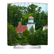 Bay Of Green Bay Lighthouse Shower Curtain