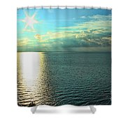 Bay Of Green Bay Wi Shower Curtain