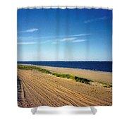 Bay Of Keyport Shower Curtain