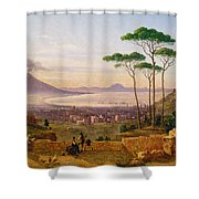 Bay Of Naples Shower Curtain