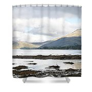 Bay Reflections Shower Curtain