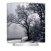 Bay Side Shower Curtain