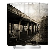 Bay View Bridge Shower Curtain