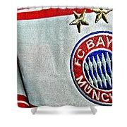 Bayern Munchen Poster Art Shower Curtain