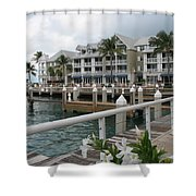 Bayfront Key West II Shower Curtain