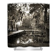 Bayou Evening Shower Curtain