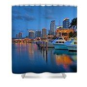 Bayside Marketplace Shower Curtain