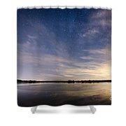 Bayville Nj Milky Way Shower Curtain