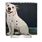 Baz The Dog Shower Curtain