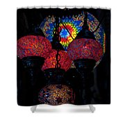 Bazaar Lights Shower Curtain