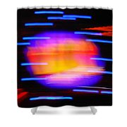 Super Nova Shower Curtain