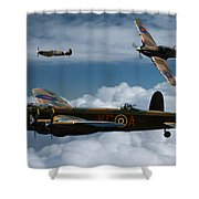 Bbmf Formation Shower Curtain