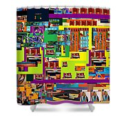 be a good friend to those who fear Hashem 14 Shower Curtain by David Baruch Wolk