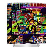 be a good friend to those who fear Hashem 16 Shower Curtain by David Baruch Wolk