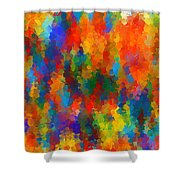 Be Bold Shower Curtain by Lourry Legarde