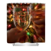 Be Merry Shower Curtain