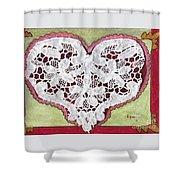 Be My Valentine Shower Curtain