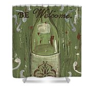 Be Our Guest Shower Curtain