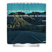 Be Something Shower Curtain