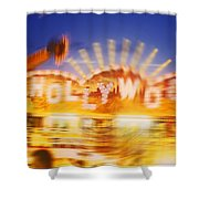 Be Thy Name Shower Curtain