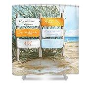 Beach 151 Shower Curtain