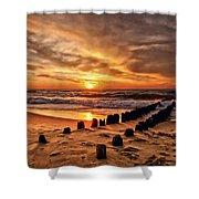 Beach 5 Shower Curtain