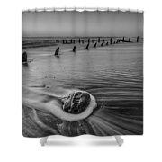 Beach 8 Shower Curtain