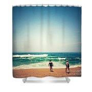 Beach 6 Shower Curtain