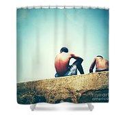 Beach 7 Shower Curtain
