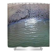 Beach Abstract Shower Curtain