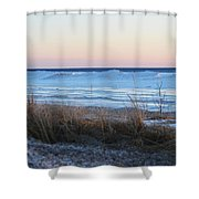 Beach And Ice Shower Curtain