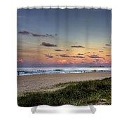 Beach At Twilight Shower Curtain